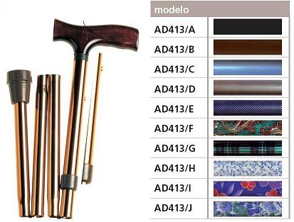 Bastón Plegable FASHION. Diferentes diseños y colores