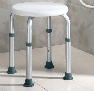 Taburete Baño / Ducha de Aluminio