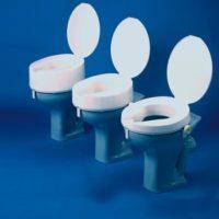Elevadores De WC ASHBY XXL Con Tapa. Una higiene total. Peso máx. 190 Kg.