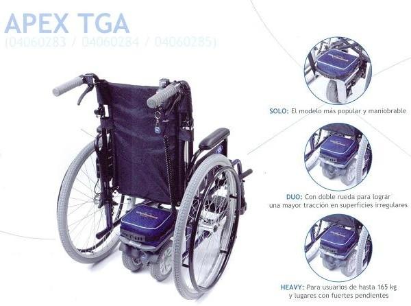 motores apex tga para silla de ruedas