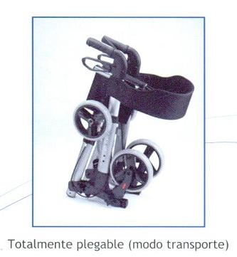 Rollator Futura. Más moderno y completo de la gama.