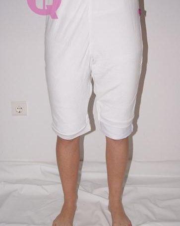 pijama antipañal pantalón corto y manga corta
