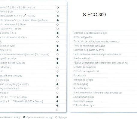 datos técnicos S-ECO 300