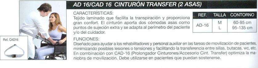 Cinturón Transfer 2 Ases