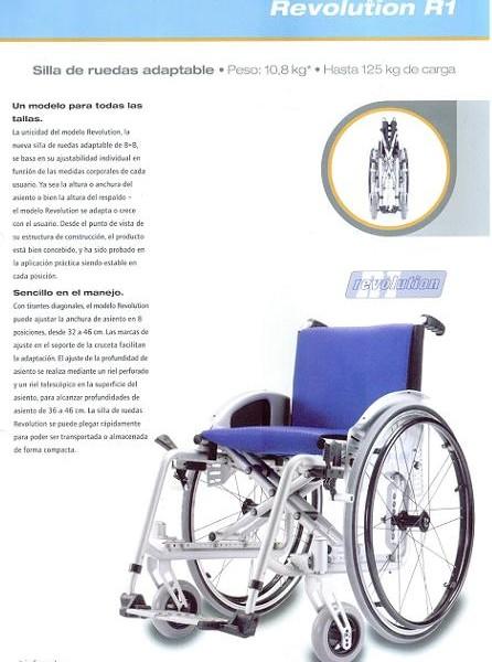 Silla de Ruedas Revolution R1