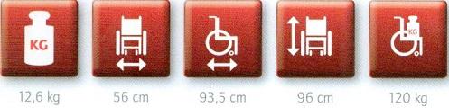 silla de ruedas con inodoro