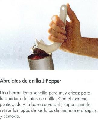 Abrelatas De Anilla J-Popper