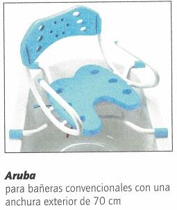 silla de bañera de calidad suprema