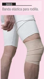 banda elástica para rodilla