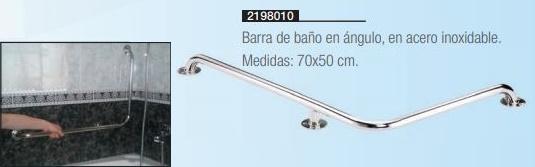 Barra De Baño En Ángulo