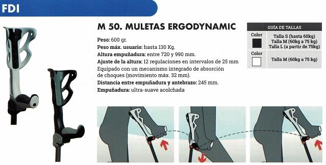 muletas ergodynamic ortopédicas