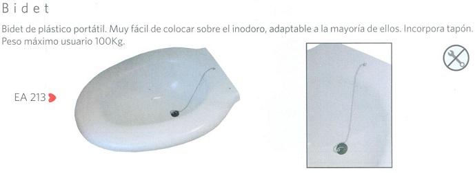 Bidet Adaptable A La Mayoría De Inodoros