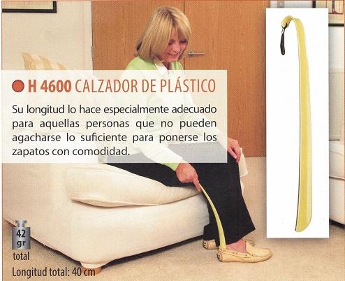 calzador para zapatos de plástico