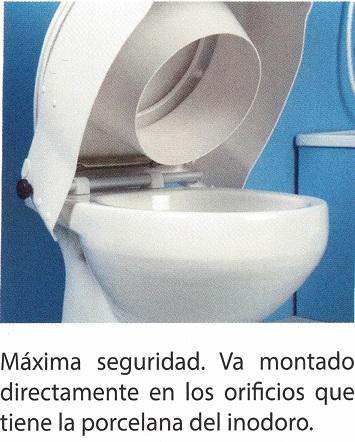 Elevadores De WC. Regulables en altura e inclinación.