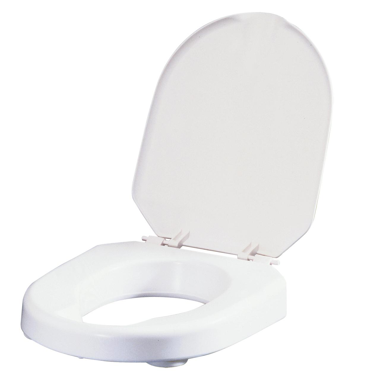 Asientos para inodoros HI-LOO ETAC. De 6 ó 10 cm. Con o sin tapa. Para facilitar acceso.