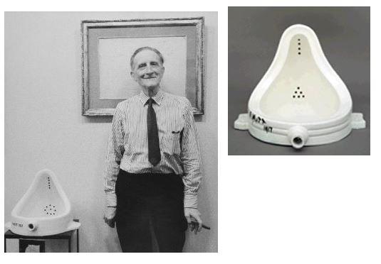 orinal de Marcel Duchamp