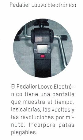 Pedalier Digital Electrónico Plegable
