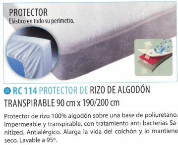 Protector De RIZO De Algodón Transpirable