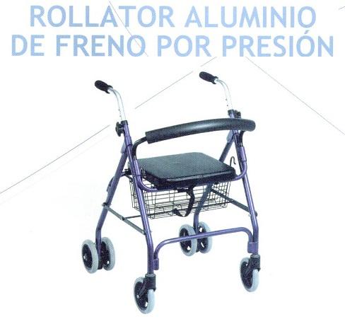 Rollator Aluminio