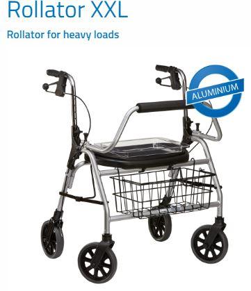Maxi Rollator L Hasta 200 kg
