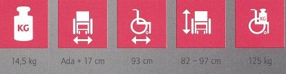 silla de ruedas activa