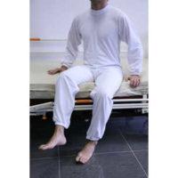 Pijama Largo Cremallera En Espalda. Se puede secar en secadora.