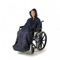 Chubasquero Forrado SPLASH. Sin o con forro. Sin o con mangas. Para silla de ruedas.