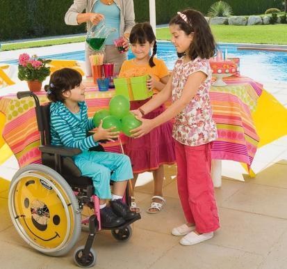 Action3 Junior Silla de Ruedas para Niños