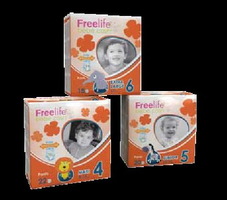 Pañales Infantiles FREELIFE