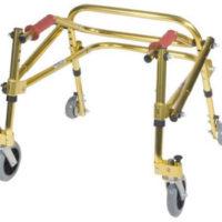 Andador Posterior NIMBO. MODELOS: Infantil, Jr., Juvenil, Juvenil Adulto. Permite la movilidad hacia adelante y hacia atrás.