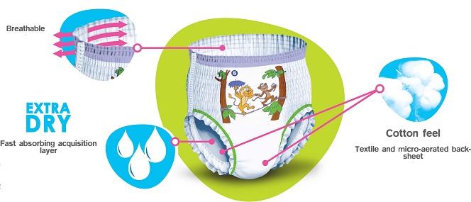 Pants Infantiles BRAGUITA FREELIFE LYCRA Junior