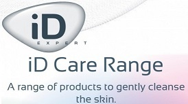 logotipo id expert care range