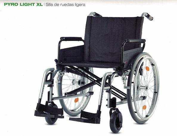 Silla De Ruedas De Aluminio PYRO LIGHT XL