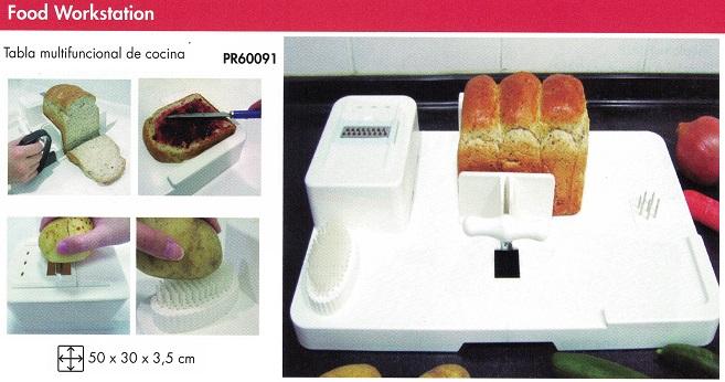 Tablas Multifuncionales Para Preparar La Comida. Ideal para personas con deficiencia de agarre.