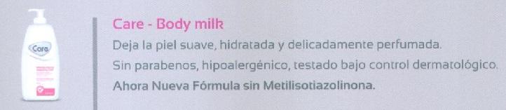 Care Body Milk