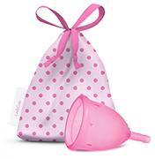 Copa Menstrual LadyCup. Para las mujeres sensibles y preocupadas por su salud íntima.