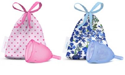 Copa Menstrual LadyCup. Colores. Para las mujeres sensibles y preocupadas por su salud íntima.