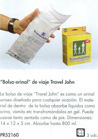 orinal portátil desechable TravelJohn