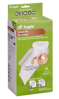 Kit Orinal Higiénico HY2. Orinal + 6 Bolsas