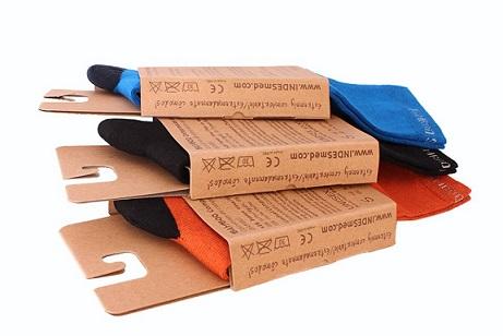 Embalaje Calcetines Fabricado Ecológicamente