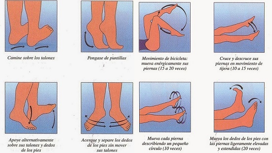 Cojín para circulación de las piernas