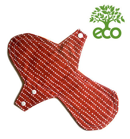Compresa Reutilizable De Noche ECO Tela. Requisitos claras para el cuidado del medio ambiente.