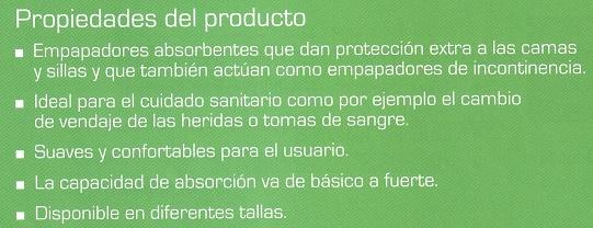 Propiedades del producto ABENA ABRI-SOFT CLASSIC