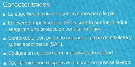 Protector Absorbente de la cama ABENA ABRI-SOFT CLASSIC. Protege camas súperabsorbente.