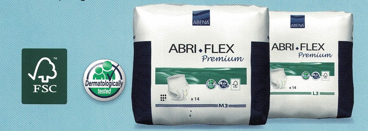 Ropa Interior Absorbente ABRI-FLEX. Cómodo y rápido de colocar.