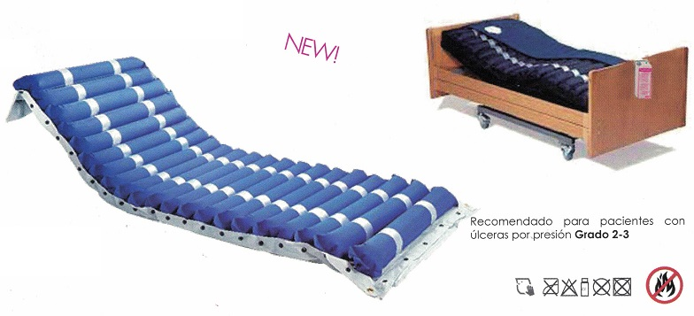 Dispositivos para alivio de las escaras de decúbito