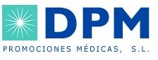 logotipo DPM Promociones Médicas