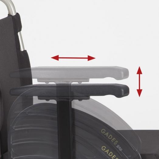 reposabrazos sillas ayuda dinámicas