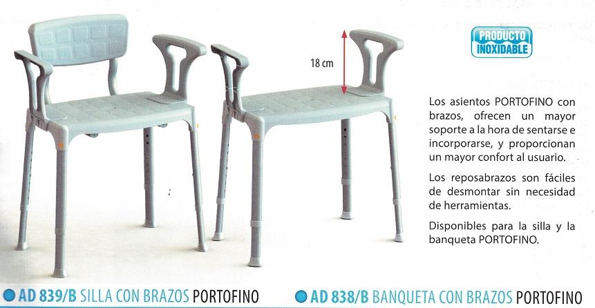silla de ducha PORTOFINO