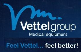 logotipo vettelgroup. medical equipment